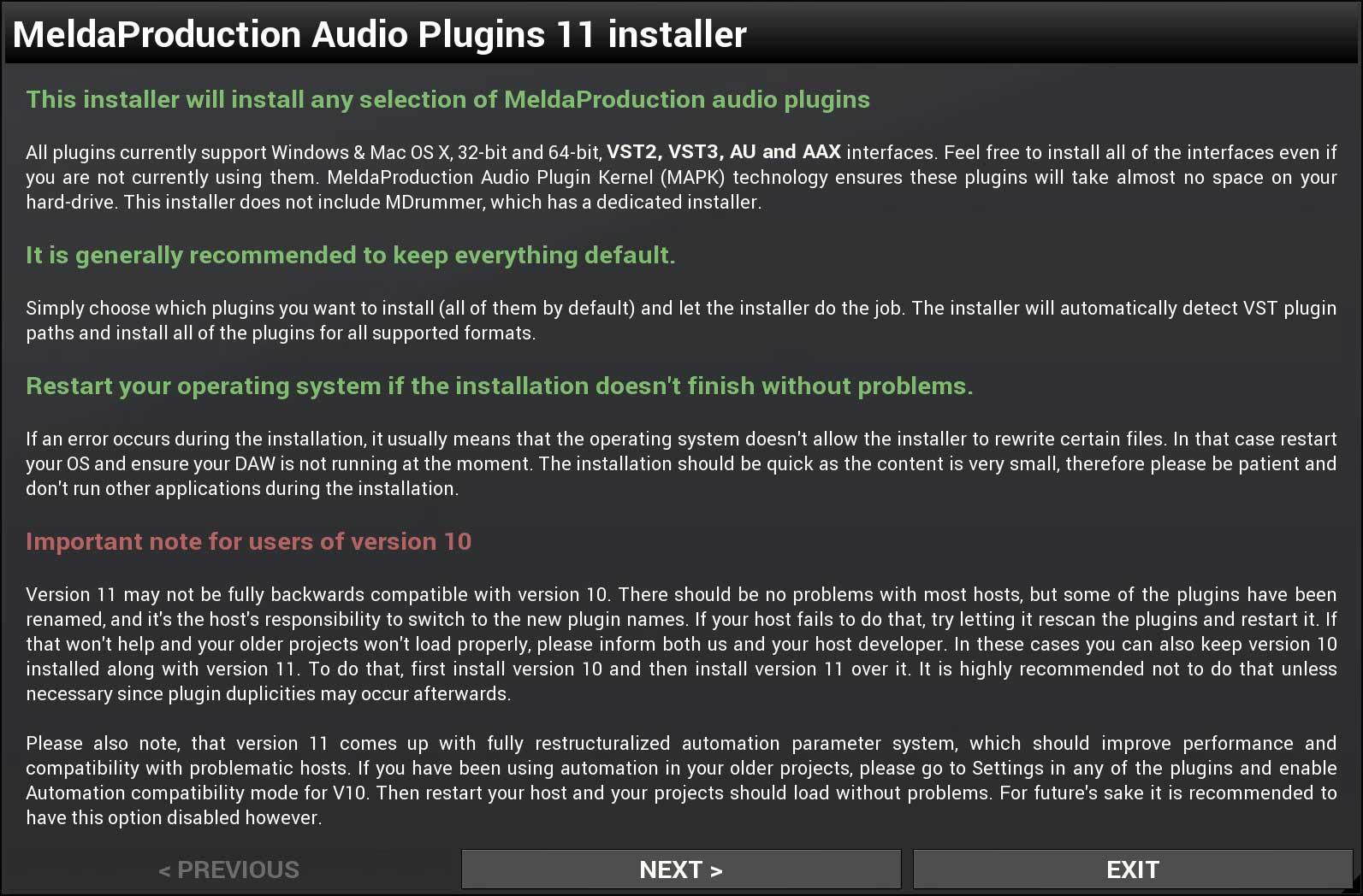 Installation tutorial | MeldaProduction