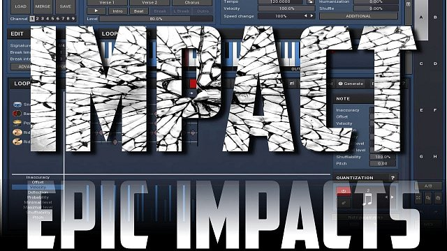 Epic impacts using MDrummer