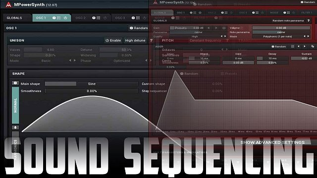 Sound sequencing and morphing using MPowerSynth