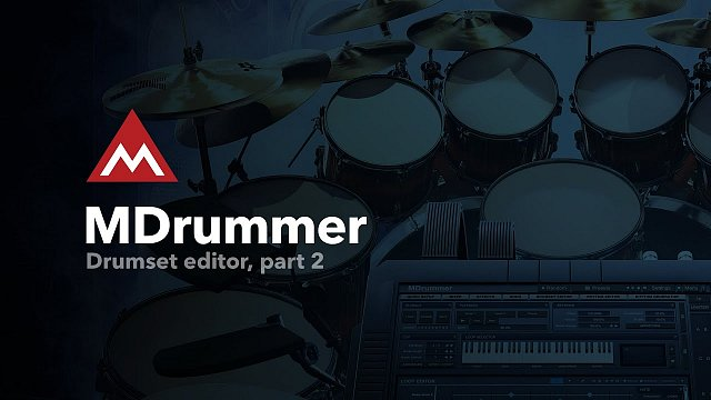 Drumset editor, part 2