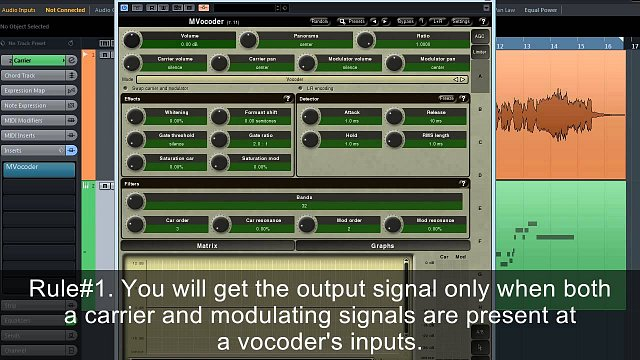 MVocoder: Video tutorial 1