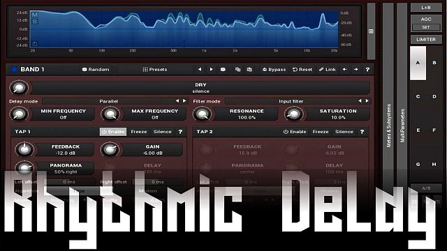 MDelayMB: Rhythmic Delay using MDelayMB