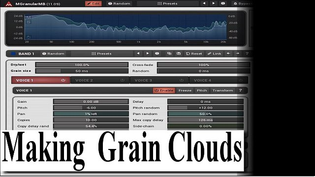 MGranularMB: Making grainclouds with MGranularMB