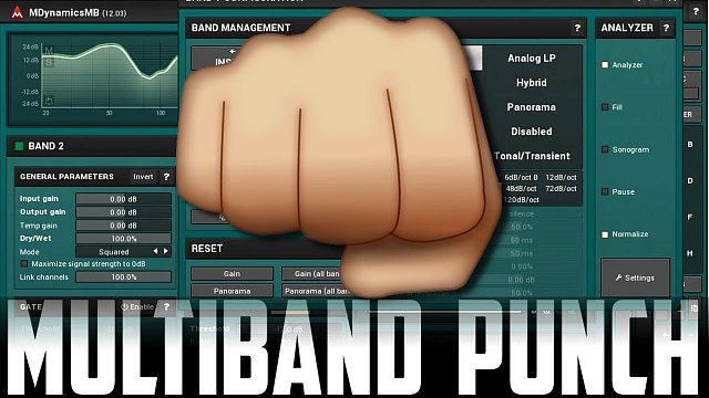 MDynamicsMB: Add punch with upward multiband compression