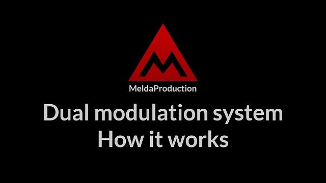 #4 - Dual modulation system, part 1 - How does it work