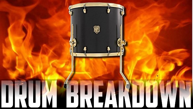 Drum breakdown of The fire within
