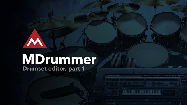 Drumset editor, part 1