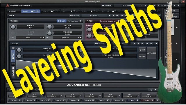 Layering with MPowerSynth