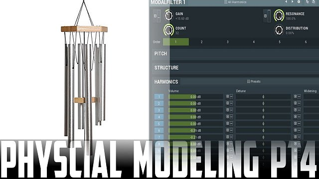 Physical modeling #4 - advanced usage of the modal filter.
