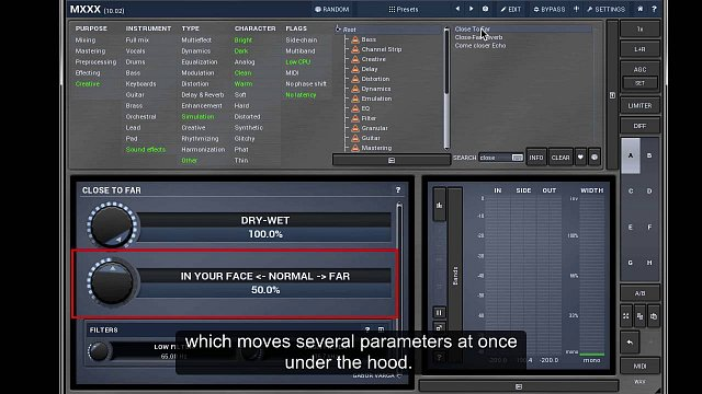 Video tutorial #3 - Modulators, multiparameters and active presets
