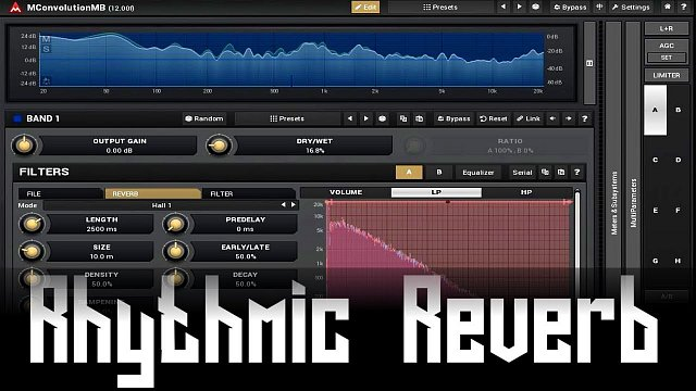 MConvolutionMB: Rhythmic reverb using MConvolutionMB