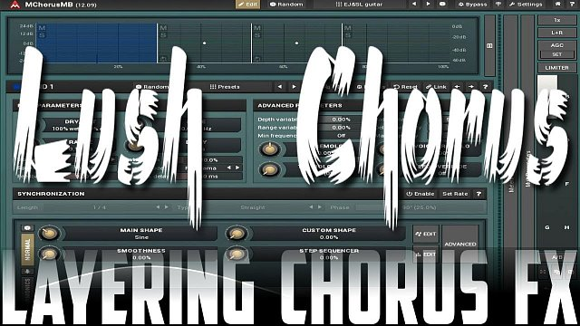 Layering Chorus with MChorusMB