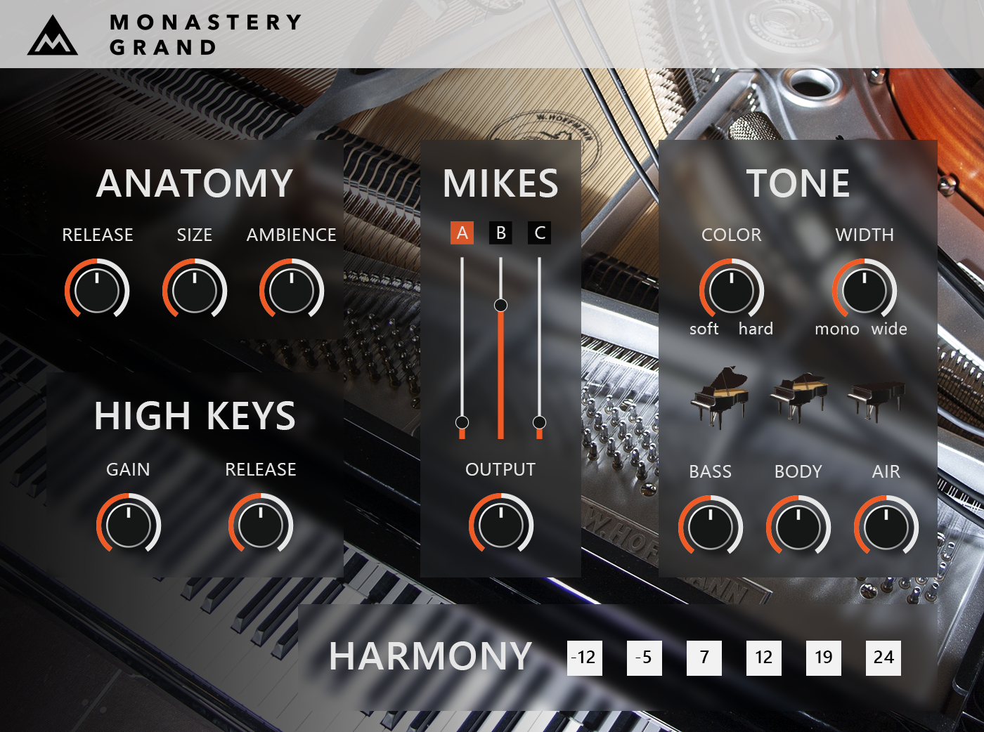 MonasteryGrand – FREE sampled stage piano available