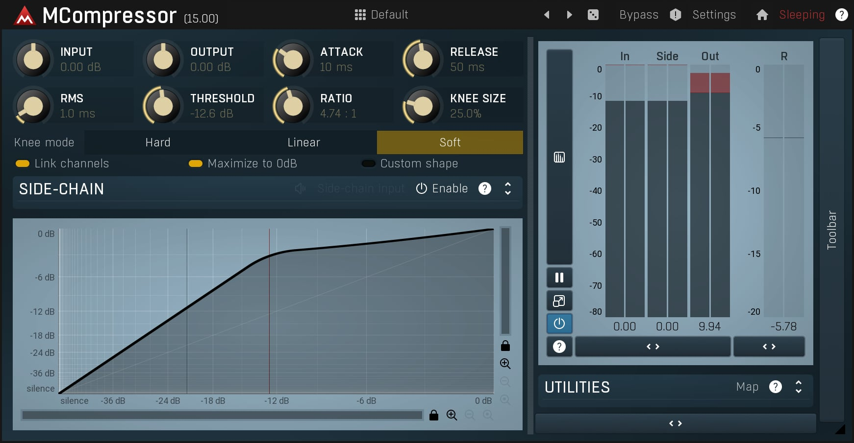 MCompressor vst plugin