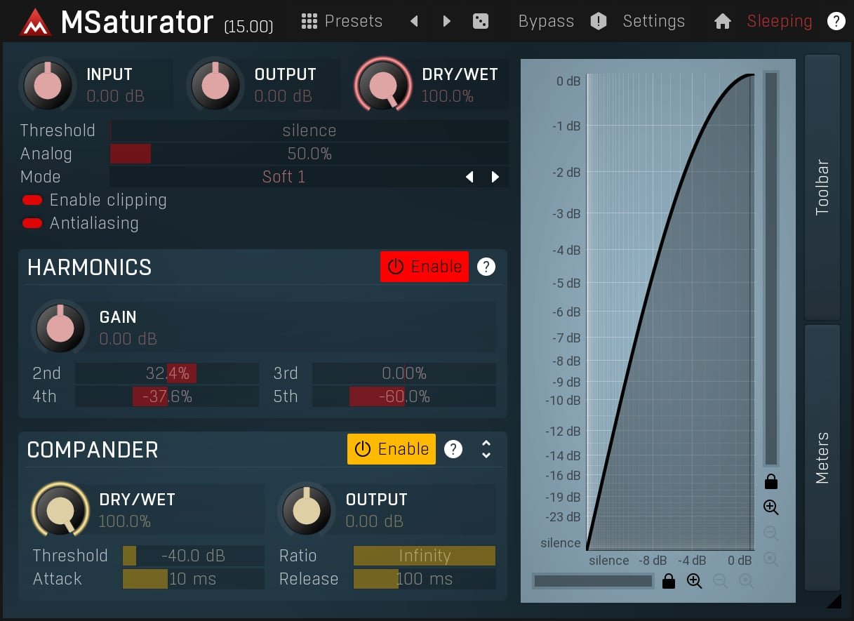 MSaturator saturation vst free